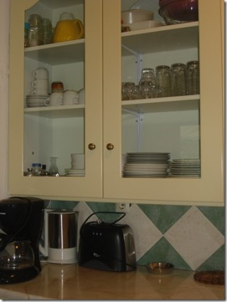 Villa Rhodos pandora kitchen equipment